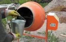 Как приготовить бетон в домашних условиях
