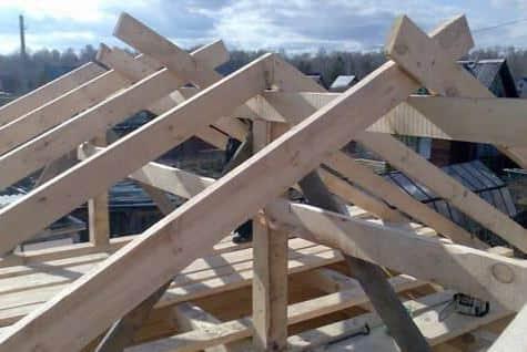 Как расчитать высоту крыши