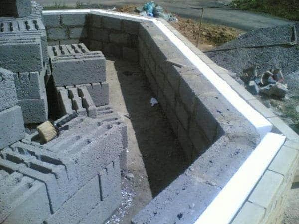 Строительство стен дома из керамзитоблоков