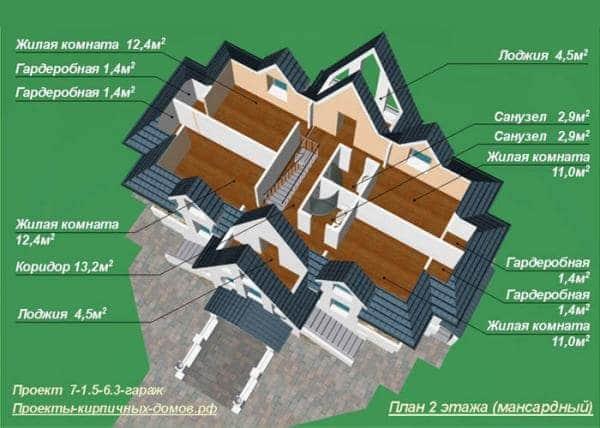 Второй этаж (Мансарда)