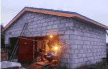 Из чего дешевле построить гараж?