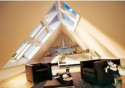 Дизайн мансардного этажа