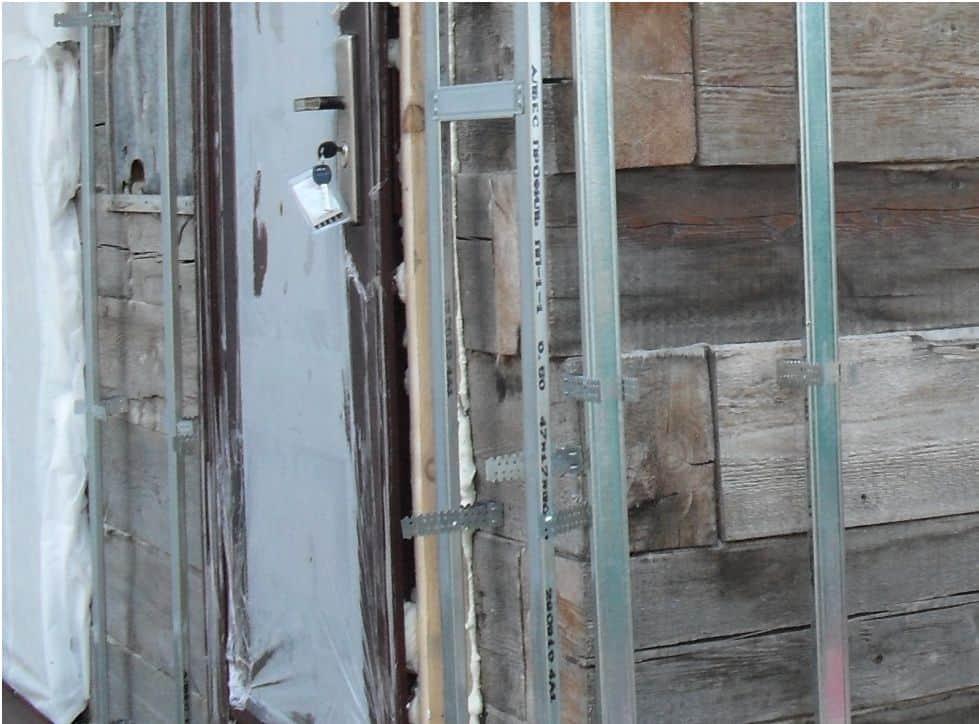 Обрешетка из профиля под сайдинг для деревянного дома