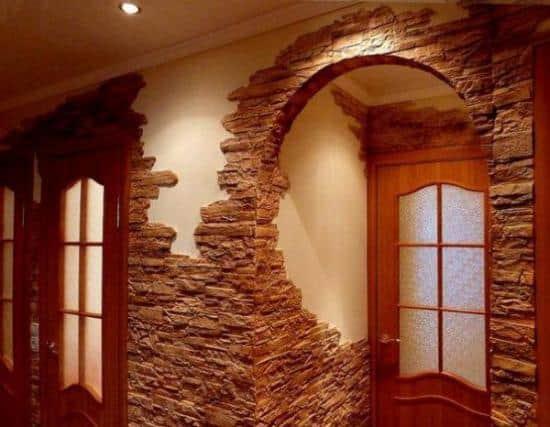 Оформление арок и дверных проемов