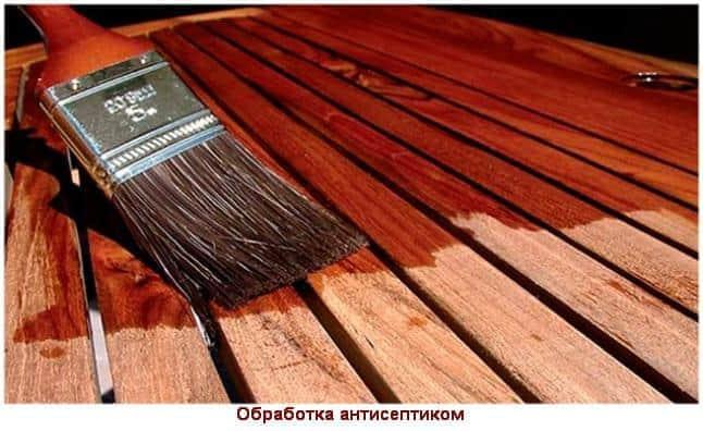 Обработка поверхности древесины