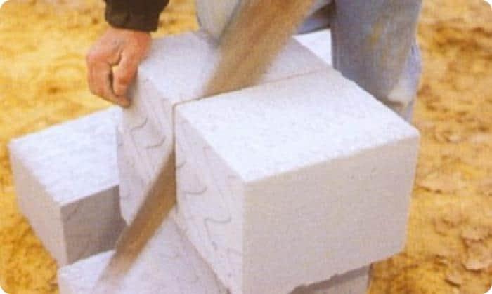 Нарезка блоков