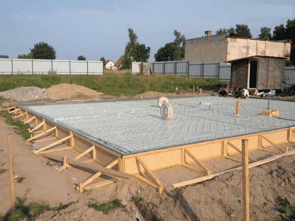 Плитная конструкция