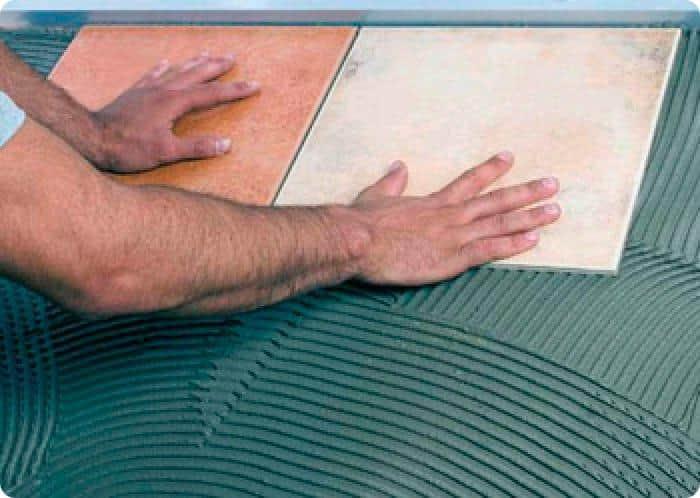 Метод укладки плитки