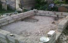Фундамент для дома из керамзитоблоков