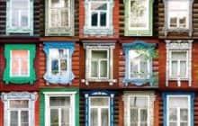 Наличники на окна деревянного дома