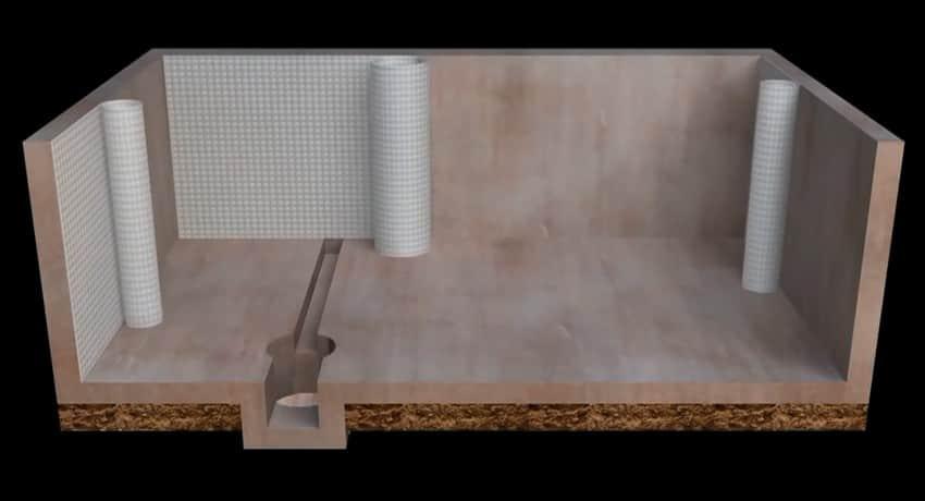 Стыков рубероида гидроизоляция