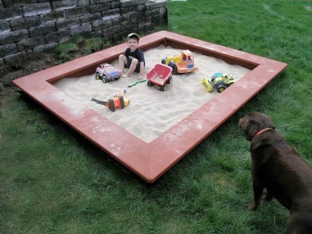 Немаловажная деталь, - это выбор песка