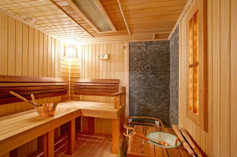 Интерьер современной бани