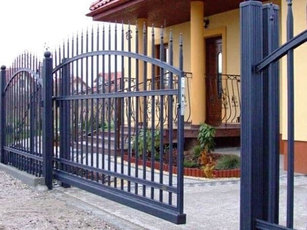 Этапы изготовления ворот