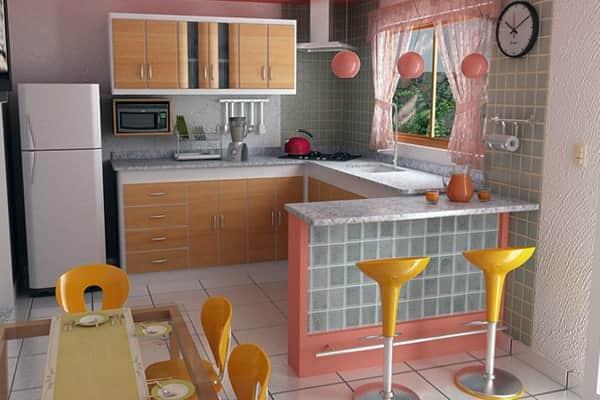 Устройство рабочей кухонной поверхности