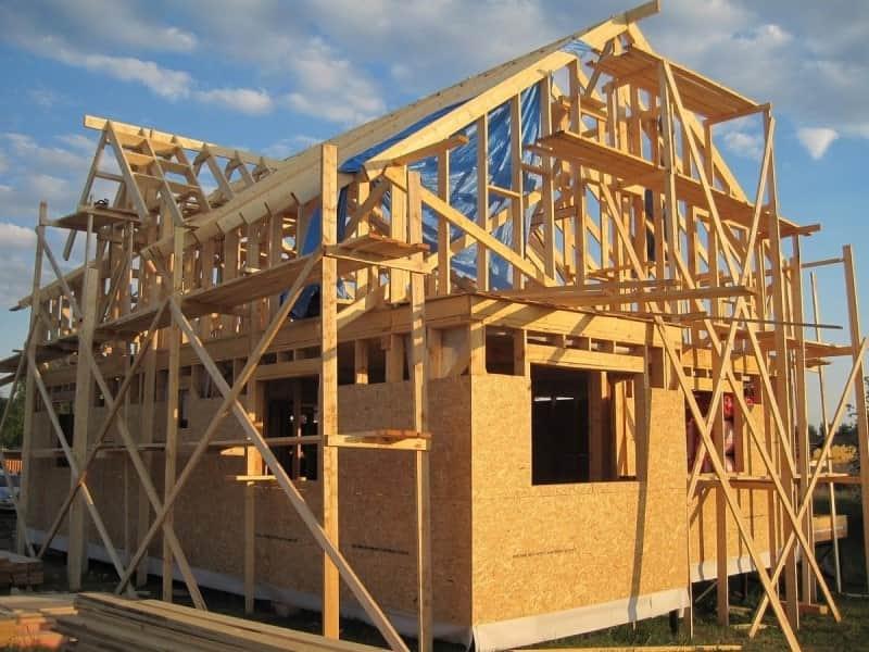 Дома каркасной конструкции