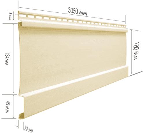Размеры и характеристики винилового сайдинга