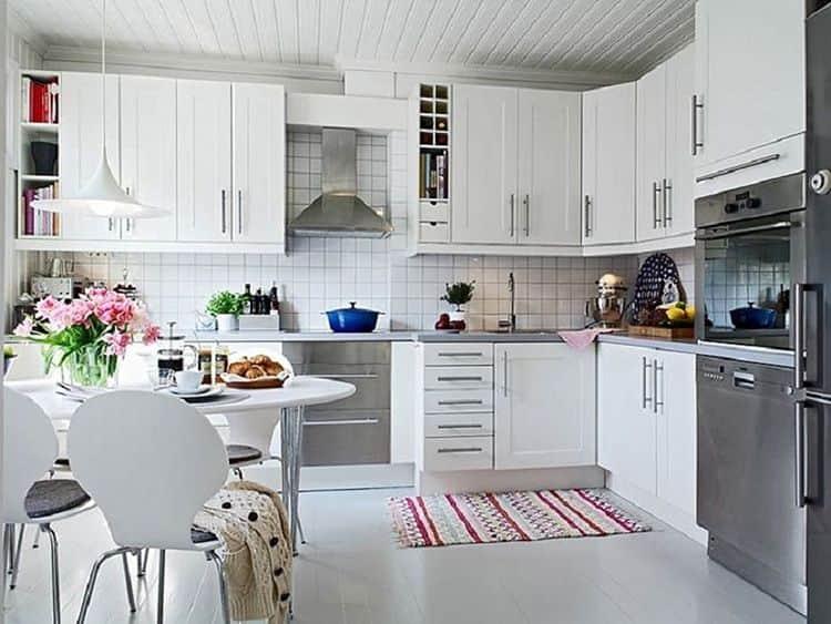Выбираем кухонный гарнитур в скандинавском стиле