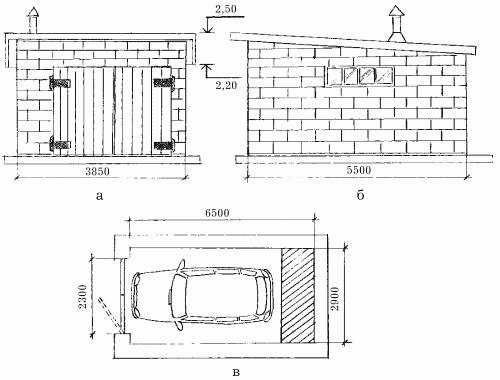 Проектирование для гаража