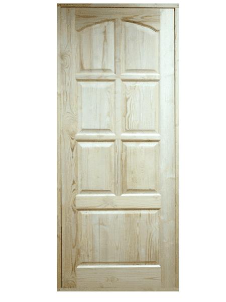 Преимущества дверей межкомнатных из массива сосны