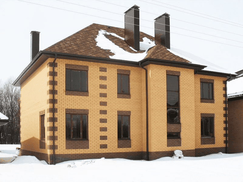 Мороз и холода – не проблема для кирпичных домов