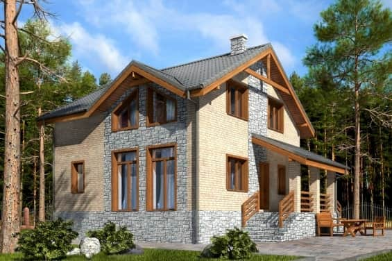 Кирпичный дом как образец экологичности