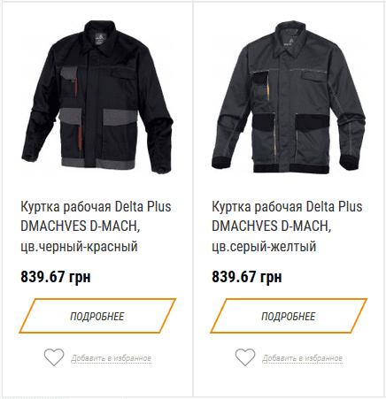 Куртки со светоотражающими элементами
