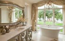 Делаем ванную комнату в стиле барокко