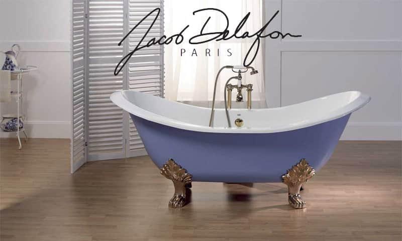 Особенности французских чугунных ванн Jacob Delafon