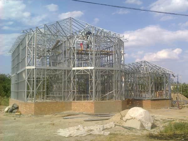 Монтаж лёгких стальных тонкостенных конструкций