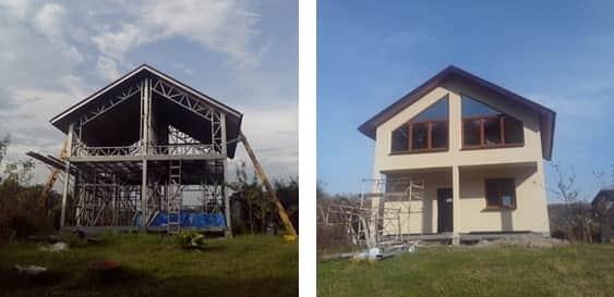 Каркасное строительство зданий