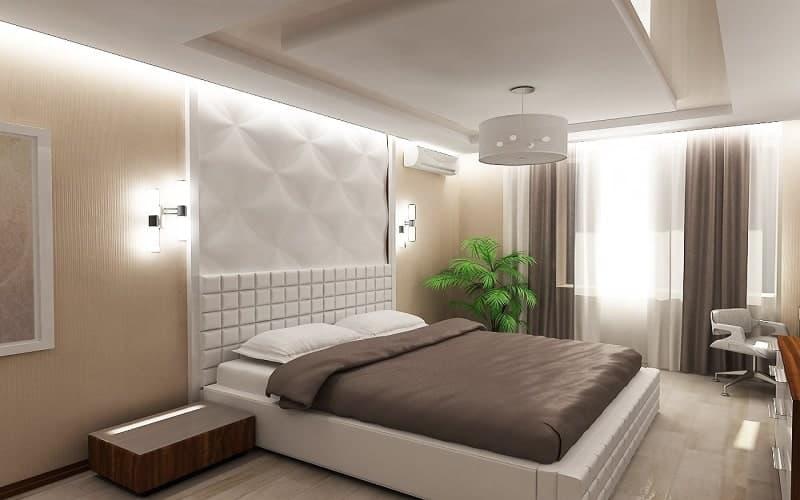 Грамотное оформление спальни