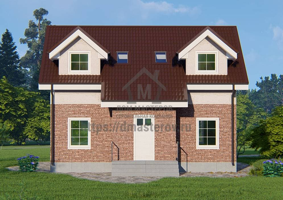 Каталог проектов каркасных, брусовых и блочных домов