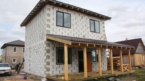 Преимущества домов из блоков