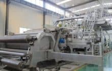 Бумагоделательная машина по производству бумаги