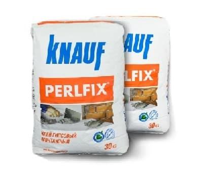 Knauf Perlfix - наиболее популярный клей для гипсокартона