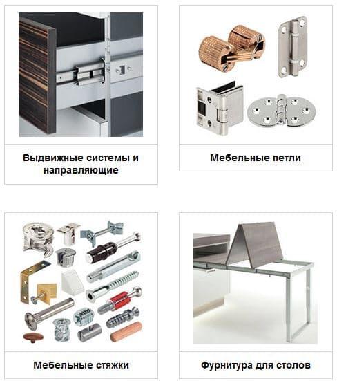 Мебельная фурнитура в городе Львов