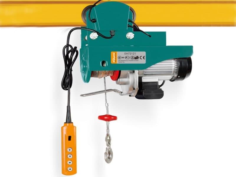 Использование малых грузоподъёмных устройств - электротельфер