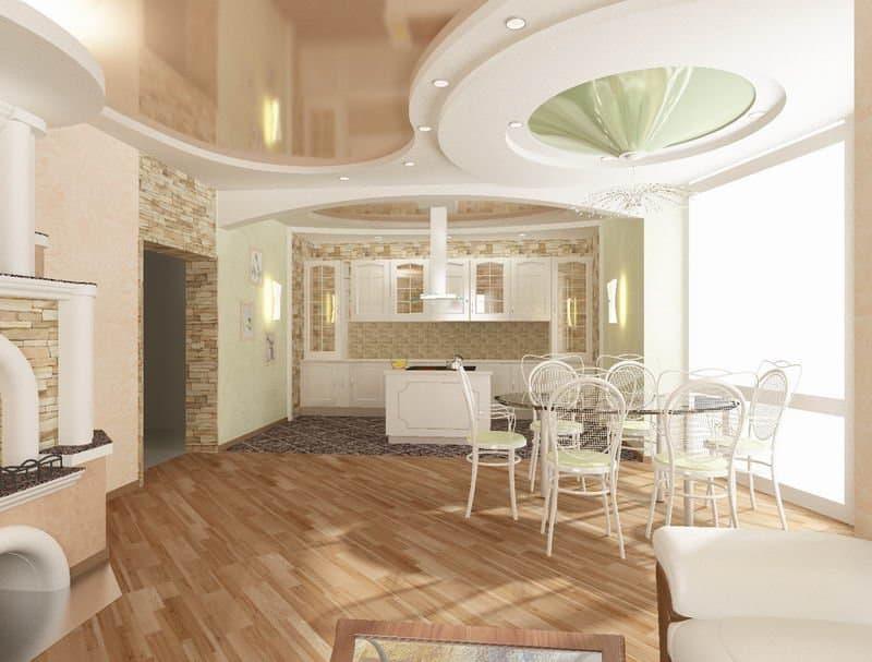Натяжные потолки – конструкция и целесообразность применения