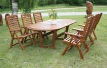 Садовая мебель для дачи от «ПаркМебели»