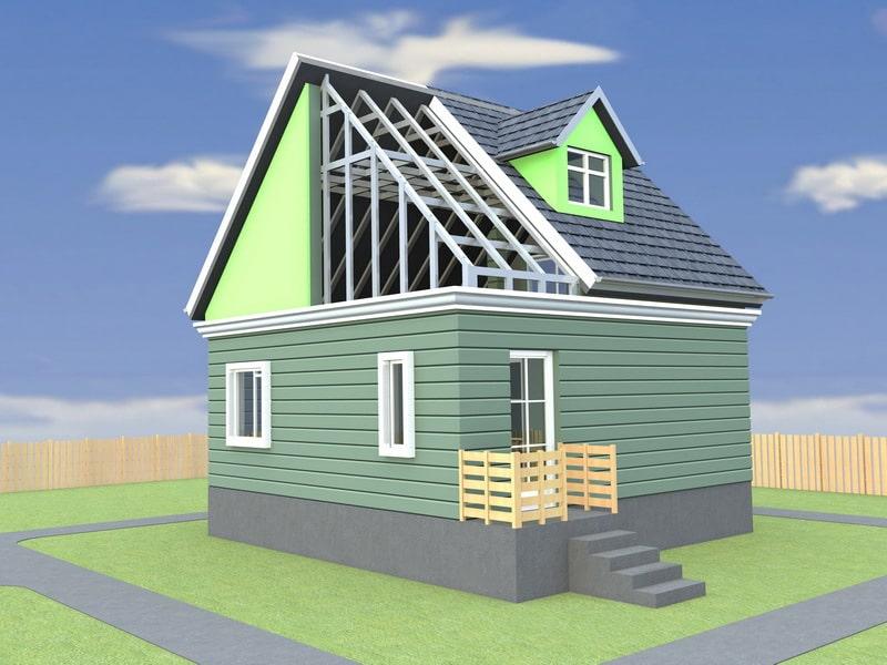 Где взять дешевые проекты каркасных домов?