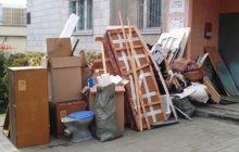 Вывезти мусор из дома