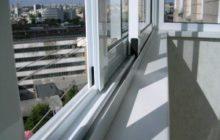 Французский вариант остекления балконов