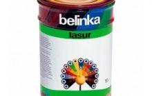 Тонкослойная краска-лазурь для древесины Belinka Lasur