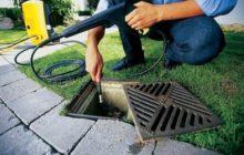 Как прочистить ливневую канализацию?