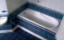 Как проводится установка ванны