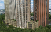 За 15 месяцев в ЖК Discovery реализовано более 50% квартир