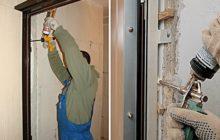 Как установить входные двери своими руками