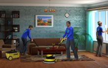 Профессиональная уборка коттеджей, квартир
