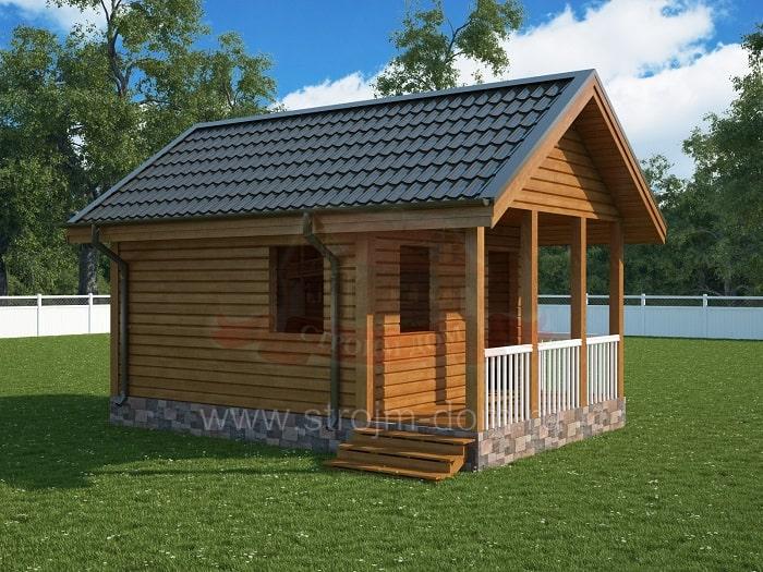 Строительство домов из бруса в Москве и Московской области